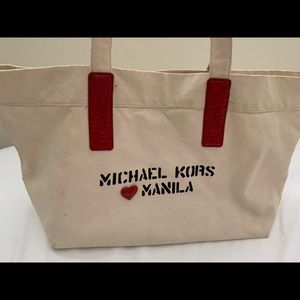 Michael Kors ❤️ Manila Cloth Tote